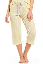 Sleep Sense Floral & Stripe Capri Sleep Pants