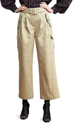 Birgitte Herskind Wide-Legged Woven Cargo Pants