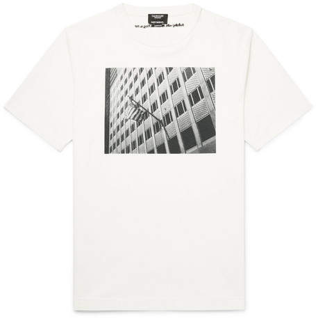 Calvin Klein + Andy Warhol Foundation Printed Cotton-Jersey T-Shirt