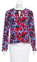 Strenesse Silk Floral Print Top