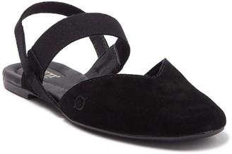 Børn Coquille Black Suede Sandal