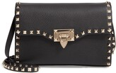 Medium Rockstud Leather Crossbody Bag