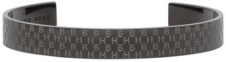 HUGO BOSS Black Engraved Monograms Bracelet