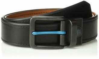 Original Penguin Men's 38mm Blue Nose Reversible Casual Belt