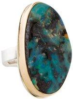 Jamie Joseph Two-Tone Boulder Opal Ring