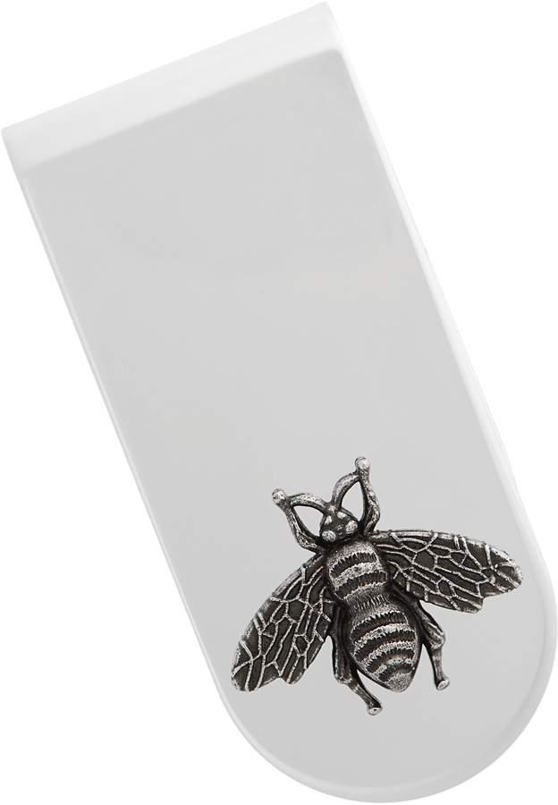 Gucci Bee Insignia Brass Money Clip