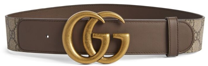 Gucci GG Supreme Marmont Belt
