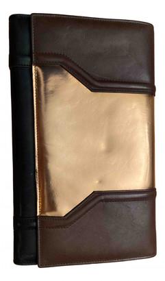 Damir Doma Brown Leather Handbags