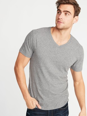 Old Navy Soft-Washed Heathered V-Neck Tee for Men