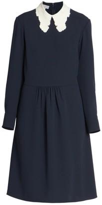 Chloé Lace Collar Shift Dress