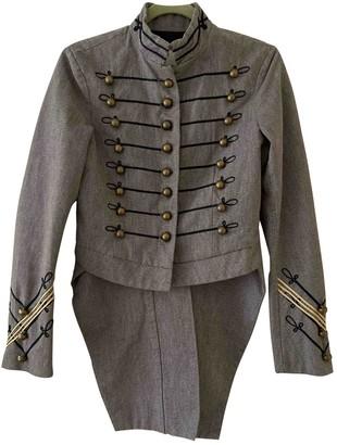Denim & Supply Ralph Lauren Grey Cotton Jackets