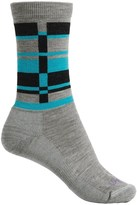 Lorpen T2 Lifestyle Stripes Socks - Merino Wool, Crew (For Women)