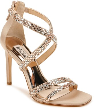 Badgley Mischka Zendaya Embellished Sandal