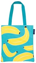 Sunnylife Print Canvas Tote - Blue/green