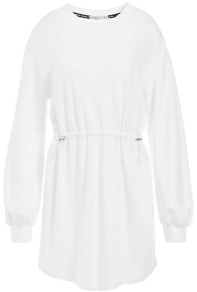 Alice + Olivia Heeda Dropped-Shoulder Toggle Dress