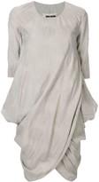 UMA WANG Gathered Short Dress