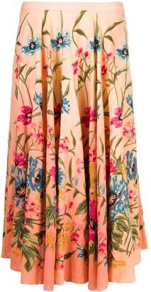 A.N.G.E.L.O. Vintage Cult 2000s Floral Print Skirt