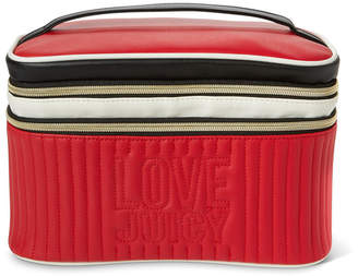 Juicy Couture Quilted Train Case