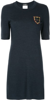 Chanel Pre-Owned silhouette fitted short dress