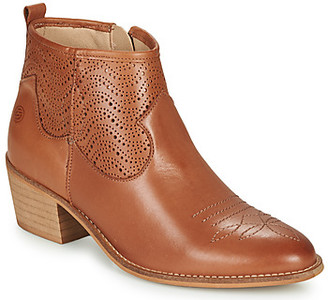 Betty London MARILENE women's Low Ankle Boots in Brown