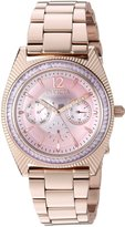 Invicta Women's 'Wildflower' Quartz Stainless Steel Casual Watch, Color:Rose Gold-Toned (Model: 23464)