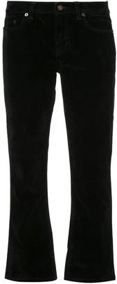 Saint Laurent cropped slim-fit jeans