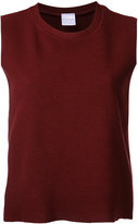 CITYSHOP crew neck tank top - women - Acrylic/Nylon/Polyurethane/Wool - One Size
