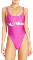 Private Party Women's 'Bridesmaid' One-Piece Swimsuit