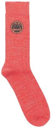 Bossi Sportswear Glitta Ball Cotton & Lurex Socks