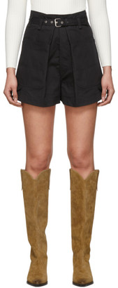 Isabel Marant Black Ike Shorts