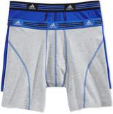 adidas Men's 2 Pack Cotton Stretch Boxer Briefs