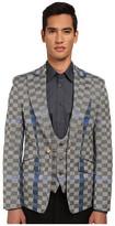 Vivienne Westwood Basket Weave Check Waistcoat Jacket