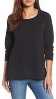 Petite Women's Caslon A-Line Sweatshirt