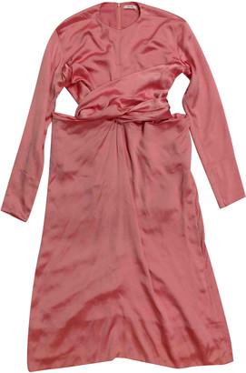 Celine Pink Silk Dresses