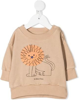 Bobo Choses Lion Print Sweatshirt
