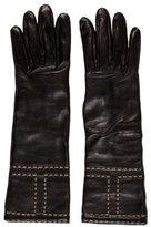 Hermes Lambskin & Cashmere Gloves