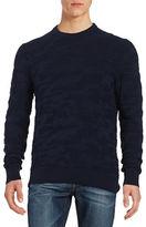 Michael Kors Textured Camo Sweater
