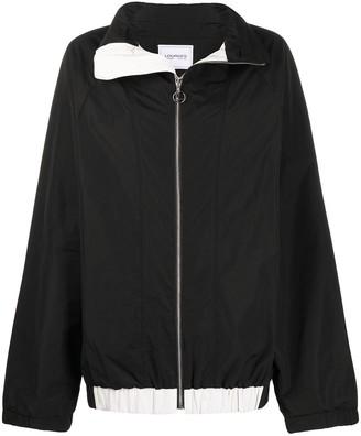 Lourdes Spread Collar Zip-Up Jacket
