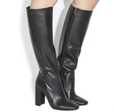 Office Eli Square Toe Knee Boots