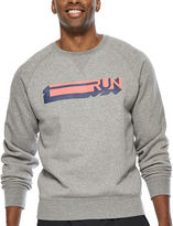 JCPenney Xersion Graphic Fleece Crewneck Sweatshirt