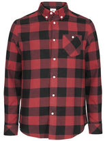 Wesc Olavi Long Sleeve Plaid Shirt