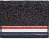 Thom Browne Striped Leather Card Holder