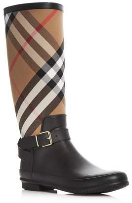 Burberry Women's Simeon Signature Check Rain Boots