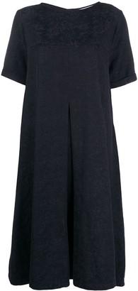 YMC Floral-Jacquard Empire Line Dress