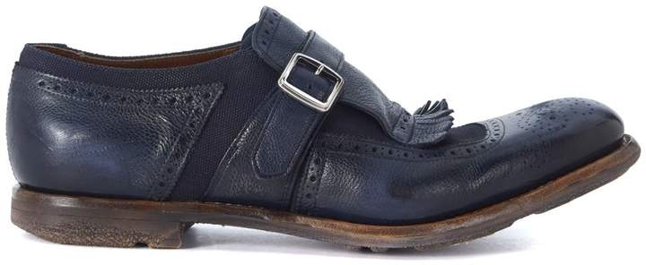 Church's Shanghai Blue Leather Loafers