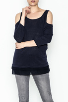 Three Dots Cold Shoulde Jersey