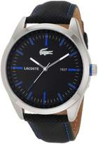 Lacoste Sport Montreal Black Dial Men's Watch [Watch]