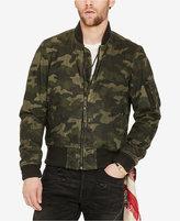 Denim & Supply Ralph Lauren Men's Slim-Fit Waxed Bomber Jacket