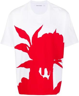 Craig Green colour-block print cotton T-shirt