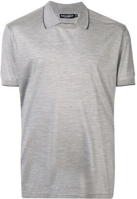 Dolce & Gabbana collar short-sleeve T-shirt